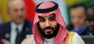 Saudi Arabian Crown Prince Mohammed bin Salman