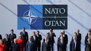групповое фото с саммита НАТО