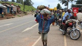 Dadka ku dhibaateysan dalka Congo