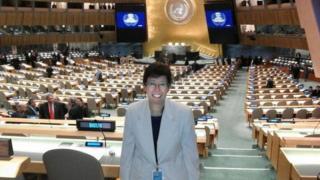 Francesca Di Giovanni at the UN