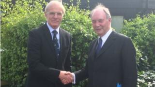 Ron Ball and Philip Seccombe