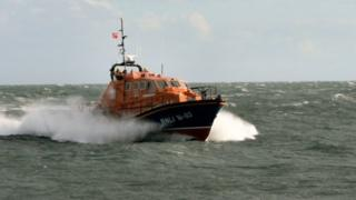 Peterhead lifeboat