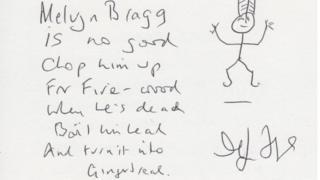 Melvyn Bragg's poem