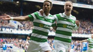 Scott Sinclair and Leigh Griffiths