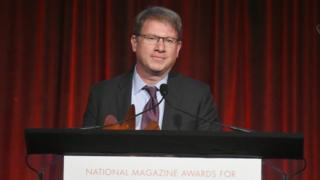 Editor in Chief of The Atlantic Jeffrey Goldberg attends the Ellie Awards 2018