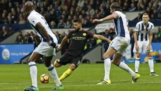 WBA v Manchester City