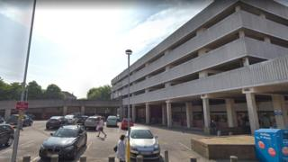 NCP car park in Crasswell Street, Portsmouth