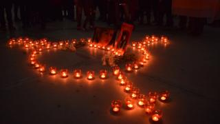Акция памяти погибших женщин-трансгендеров