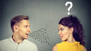 Couple, conversation