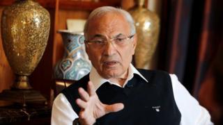 أعلن الفريق أحمد شفيق نيته الترشح للانتخابات الرئاسية المصرية من دولة الإمارات