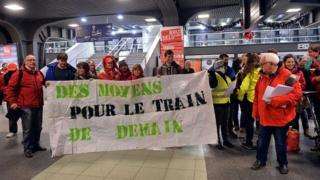 Belgian rail strikers