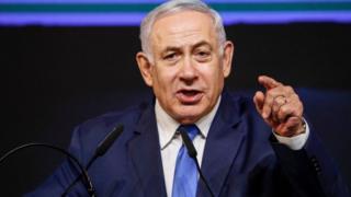 इसराइल के प्रधानमंत्री बिन्यामिन नेतन्याहू