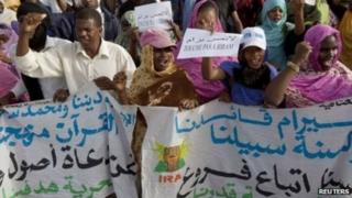 Wamekuwa wakiandamana kupinga kuwalazimisha wakazi kuhama kutoka eneo lenye mazingira magumu katika mkuu Nouakchott