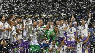 Le Real remporte pour la seconde fois consécutive la Ligue des champions.