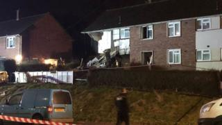 House explosion in Bristol