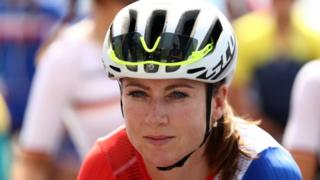 A ciclista holandesa Annemiek van Vleuten