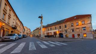 Central square in Užupis