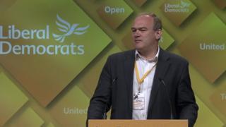 Former Lib Dem MP Ed Davey