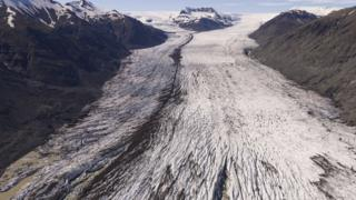 Heinabergsjökull glacier 2019