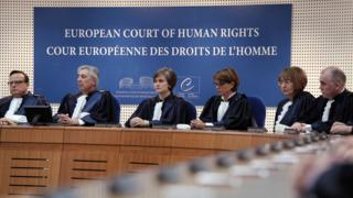 ECHR judges - file pic