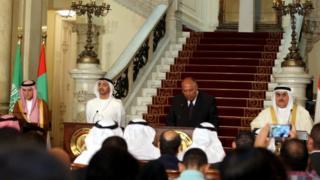 أعلنت السعودية والإمارات ومصر والبحرين قطع علاقاتها مع قطر الشهر الماضي