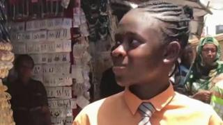 Tomisin Ogunnubi, 14 ans, a créé une application il y a deux ans.