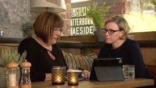Deanna Cruickshank and Gillian Martin