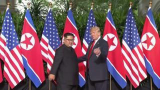 نارضایتی ترامپ از کره شمالی و لغو سفر پومپئو