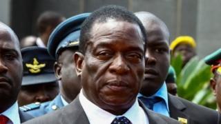 Emmerson Mnangagwo oo la filayo in loo dhaariyo madaxtinimada Zimbabwe
