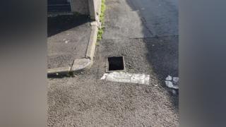 'Alarming' Port Talbot theft of 23 manhole covers