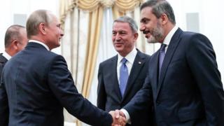 Vladimir Putin ve Hakan Fidan