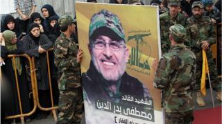 Mustafa Emin Bedreddin'in cenazesindeki fotoğrafı