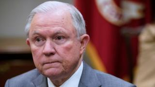 US Attorney General Jeff Sessions (file photo)