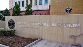 External shot of Harris County Juvenile Justice Center