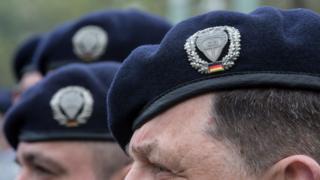 Служащие немецкой армии