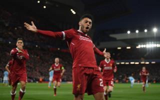 Alex Oxlade-Chamberlain anotó el segundo gol para Liverpool