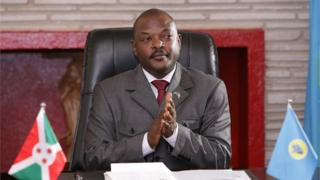Shugaba Pierre Nkurunziza na Burundi