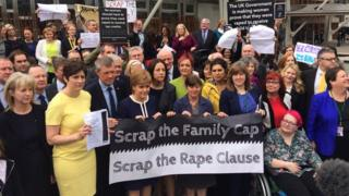 rape clause protest