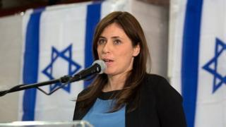 Israeli Deputy Foreign Minister Tzipi Hotovely gives a press conference on November 3, 2015