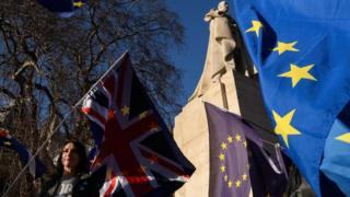 علم الولايات المتحدة والاتحاد الأوروبي