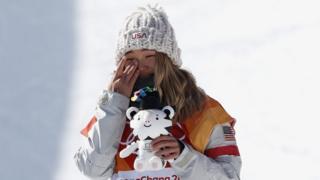한국 평창동계올림픽 스노보드 선수 클로이 김