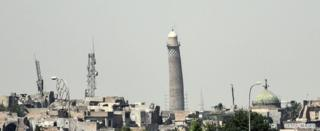 Аль-Хадба минарети, 20-июнь 2017-ж.