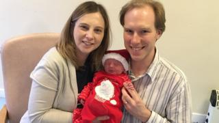 Ratcliffe family with baby