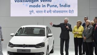 Merkel and VW