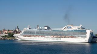 Emerald Princess cruise ship