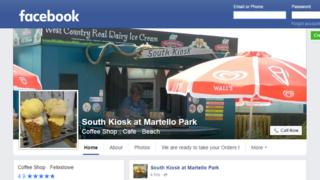 South Kiosk Facebook profile