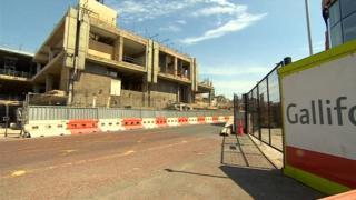 Broadmarsh demolition