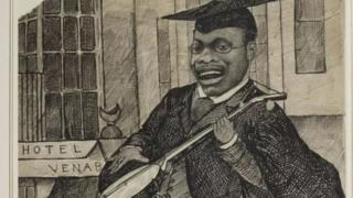 Christian Cole was depicted in cartoons during his time at Oxford