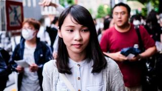 Agnes Chow: Hong Kong activist hailed as the 'real Mulan' thumbnail