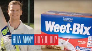 Steve Smith in Weet-Bix advert